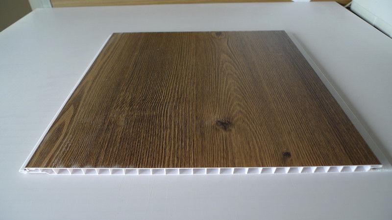 Vinyl gelamineerde het plafondcomités plankings van