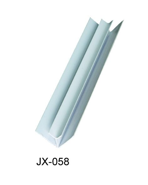 Anti - Oxidation PVC Extrusion Profiles Hot Stamping For Internal Corner